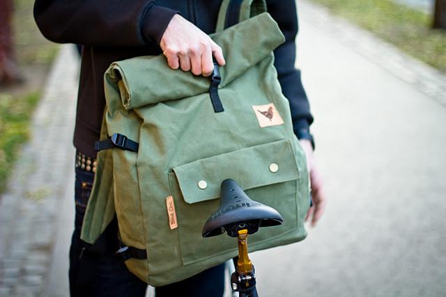 Blind Chic Rolltop Backpack Big Bag Wolf